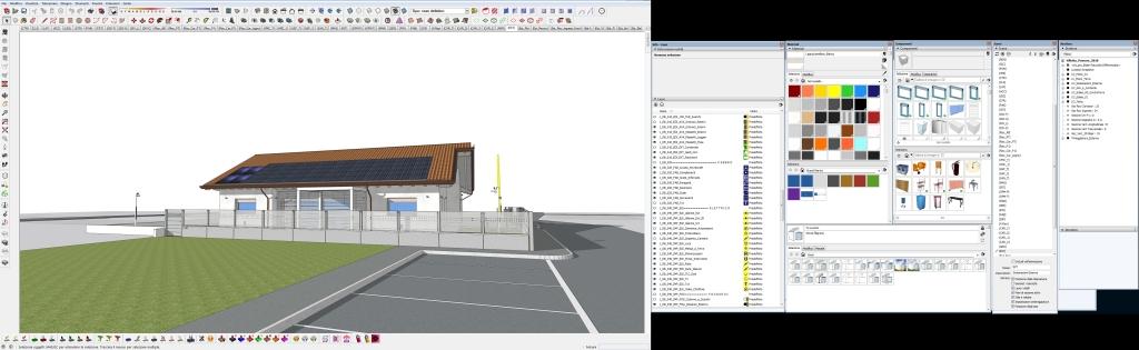 Doppio monitor per lavorare su SketchUp più rapidamente